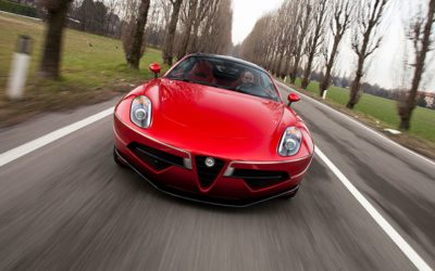 Touring Superleggera Disco Volante – L'Alfa 8C version Miss Univers !