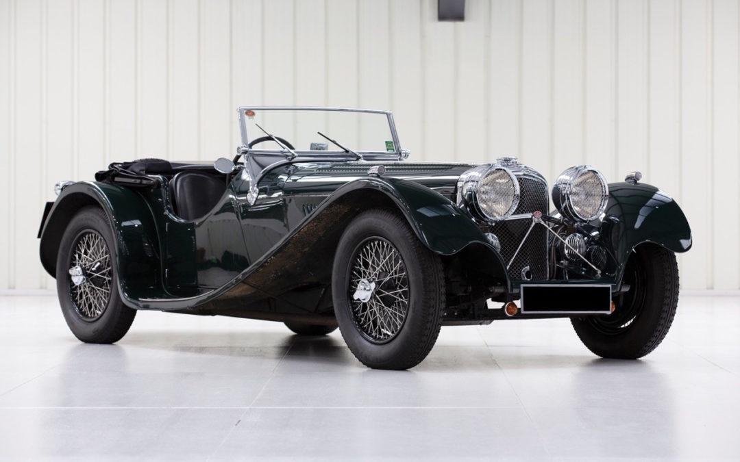 Jaguar SS 100… Parce qu'il y a un début à tout.