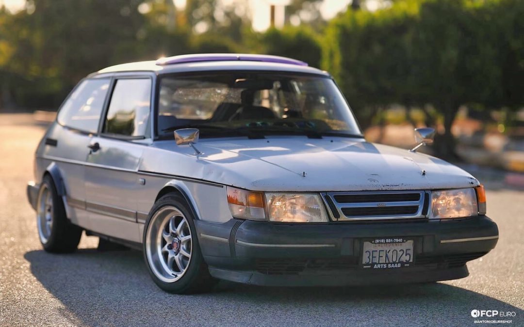'88 Saab 900 Turbo – Avis de tornade scandinave en Californie…