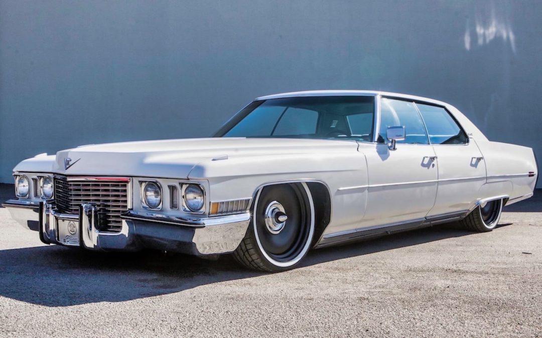 Bagged '72 Cadillac Deville Sedan… Just cruisin'