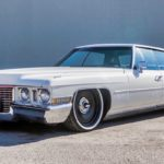 Bagged '72 Cadillac Deville Sedan... Just cruisin'