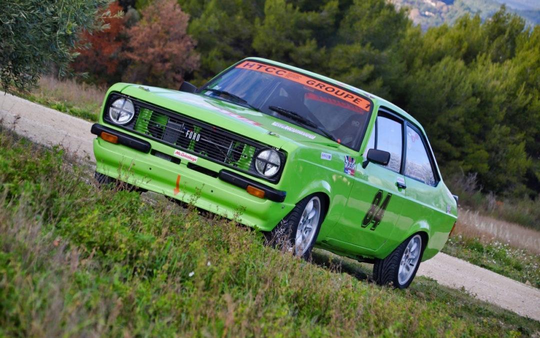 '76 Ford Escort RS2000 MkII HTCC – Championne en titre !