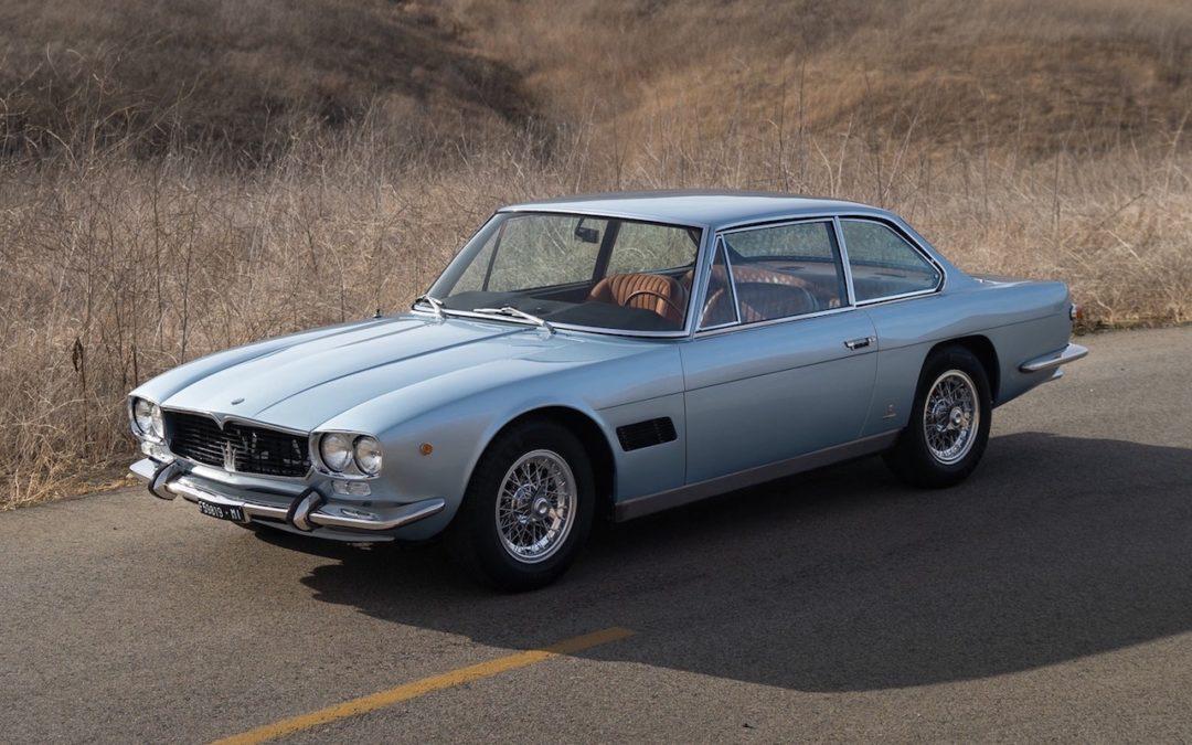'66 Maserati Mexico – Un pu**** de destin !