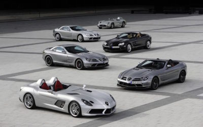 Mercedes SLR McLaren Stirling Moss – Bouquet final !