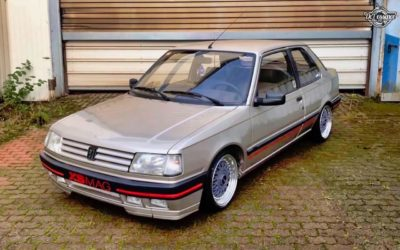 Slammed Peugeot 309 – Simple et sexy !