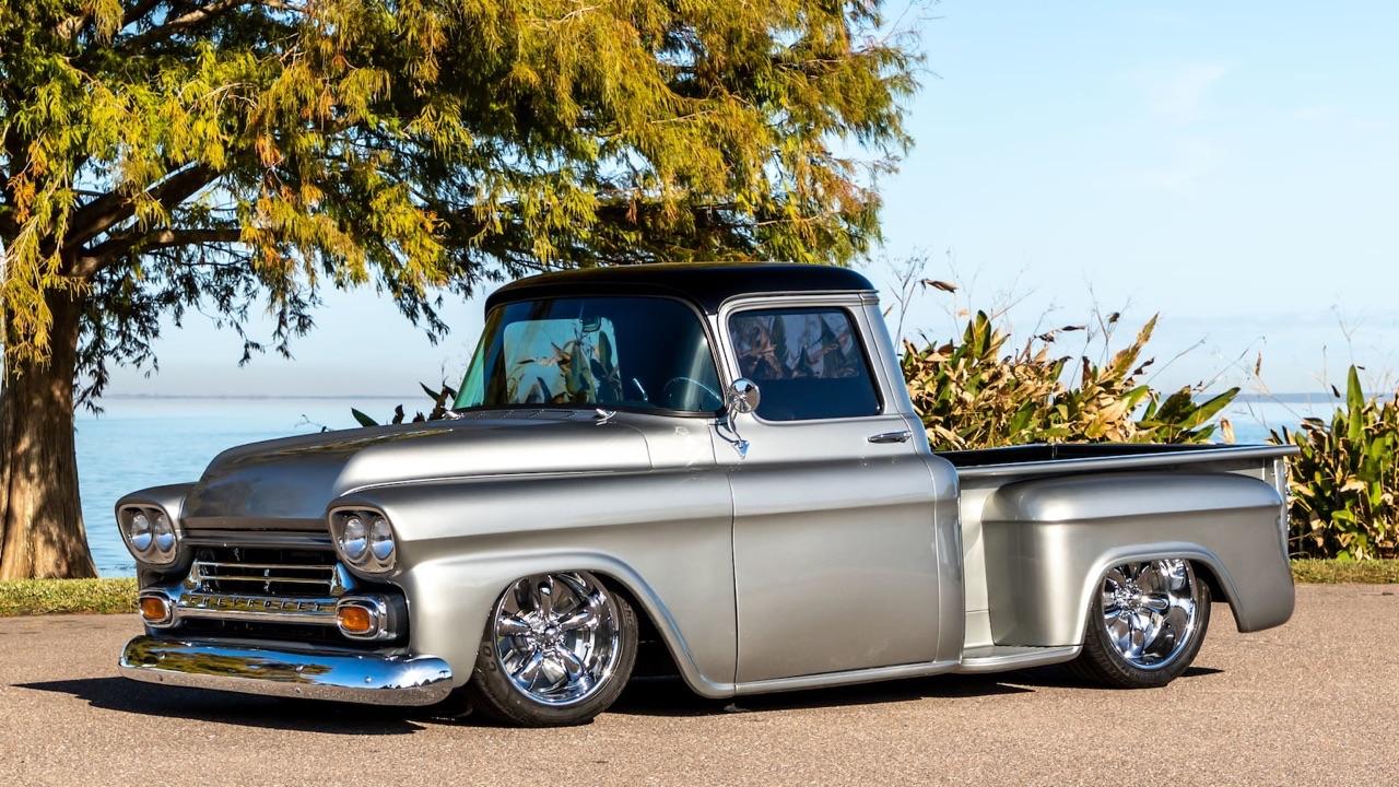 '59 Chevy Apache Custom - La classe en utilitaire ! 6