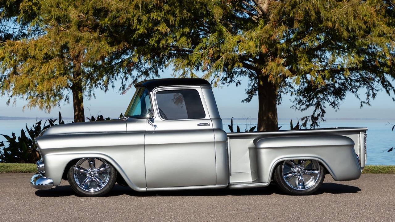 '59 Chevy Apache Custom - La classe en utilitaire ! 1