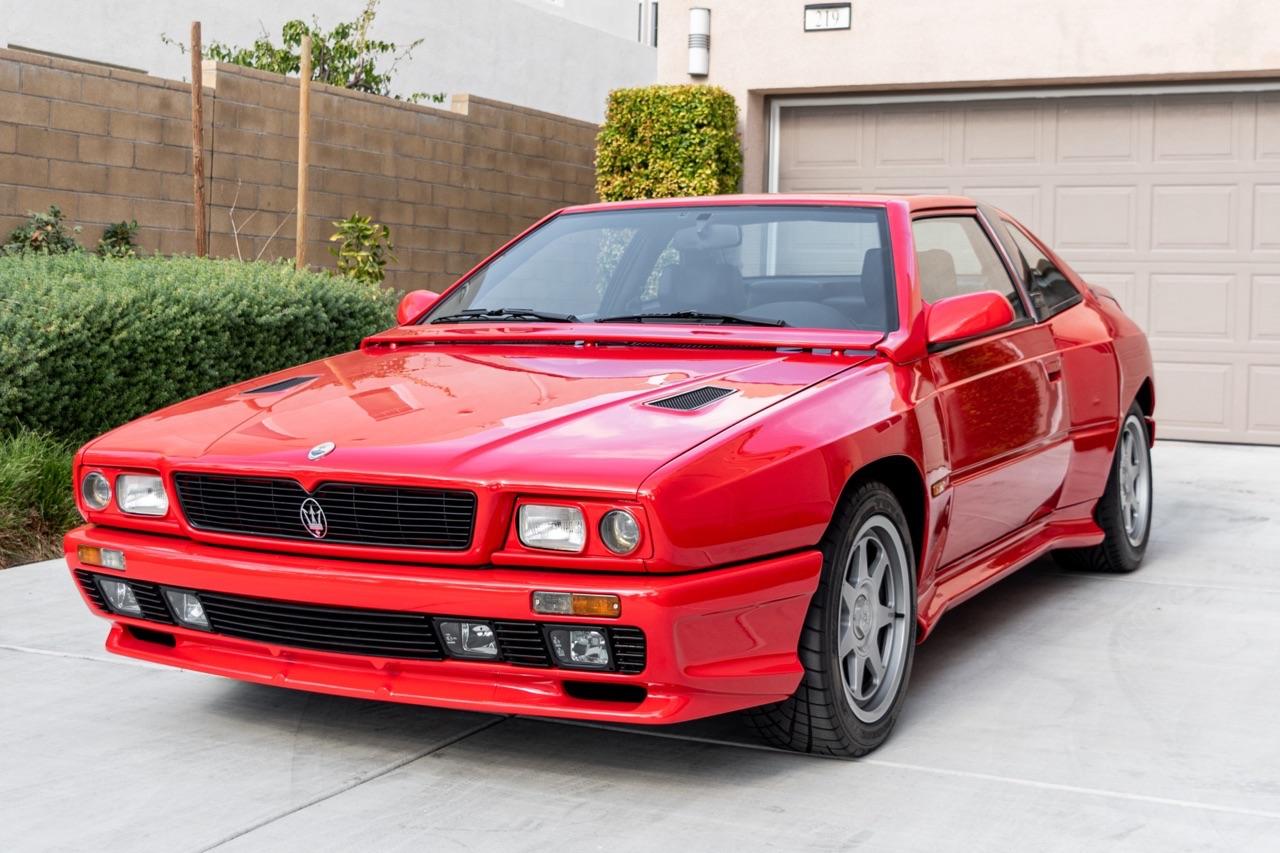 Maserati Shamal... L'histoire d'un bide ! 1