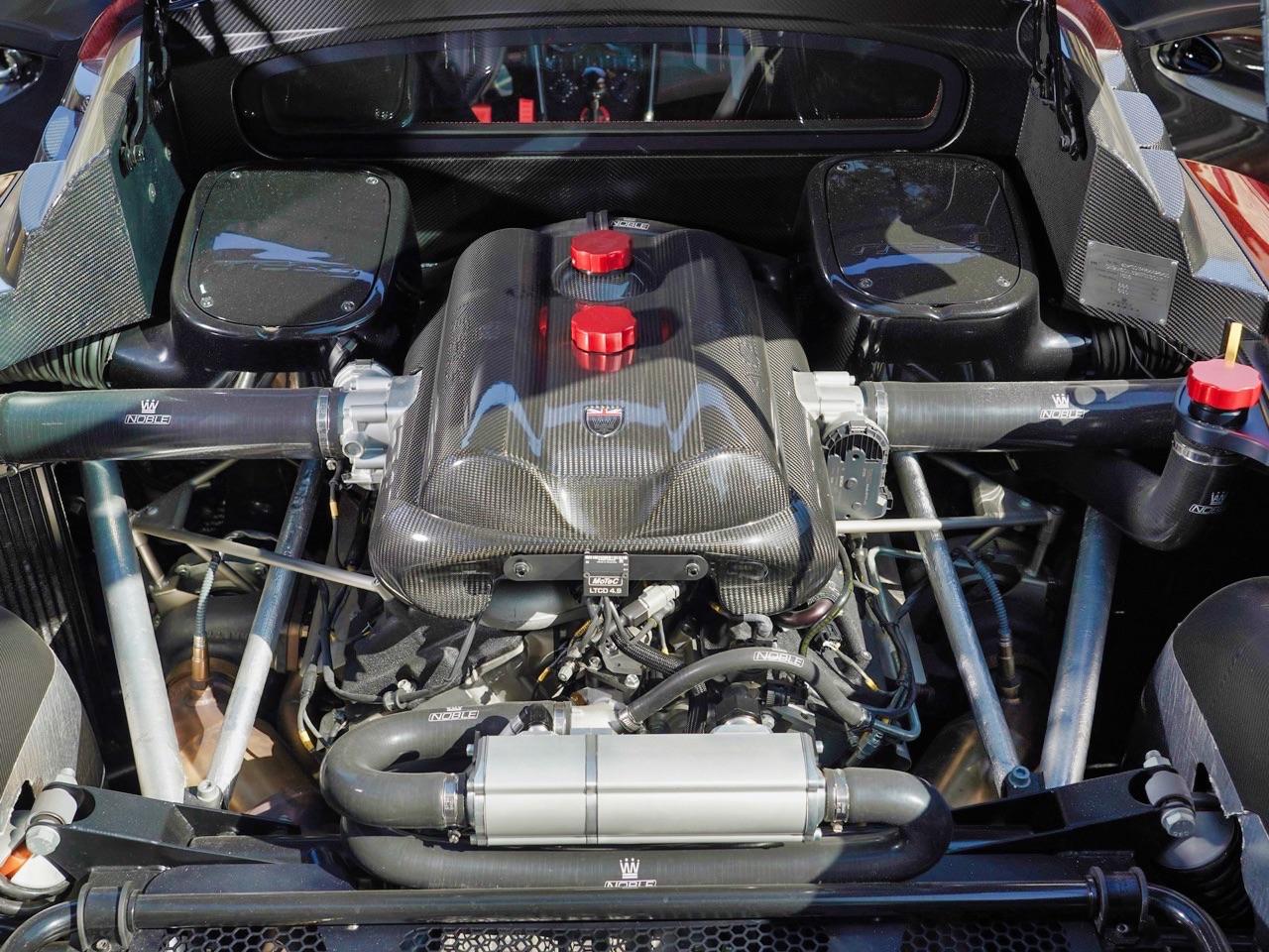 Noble M600 CarbonSport - Va y avoir du carbone et du... sport ! 16