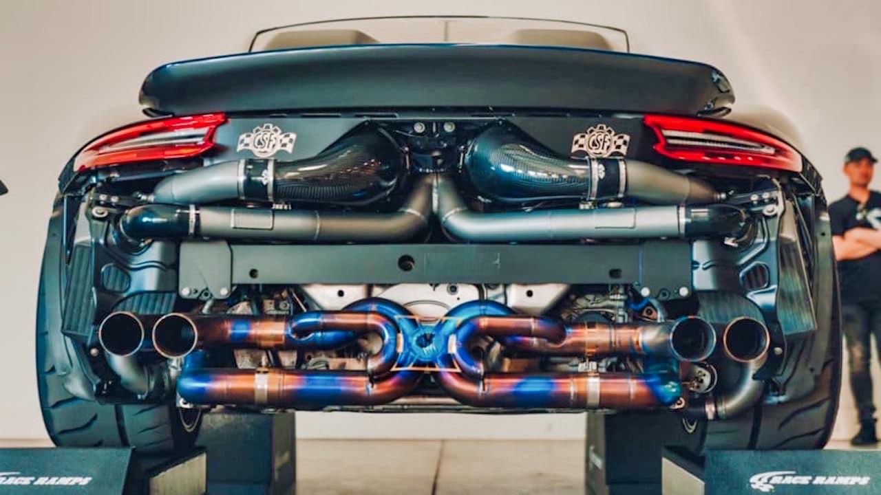 Porsche 991 Turbo S... Kill Mode avec 1182 ch ! 2
