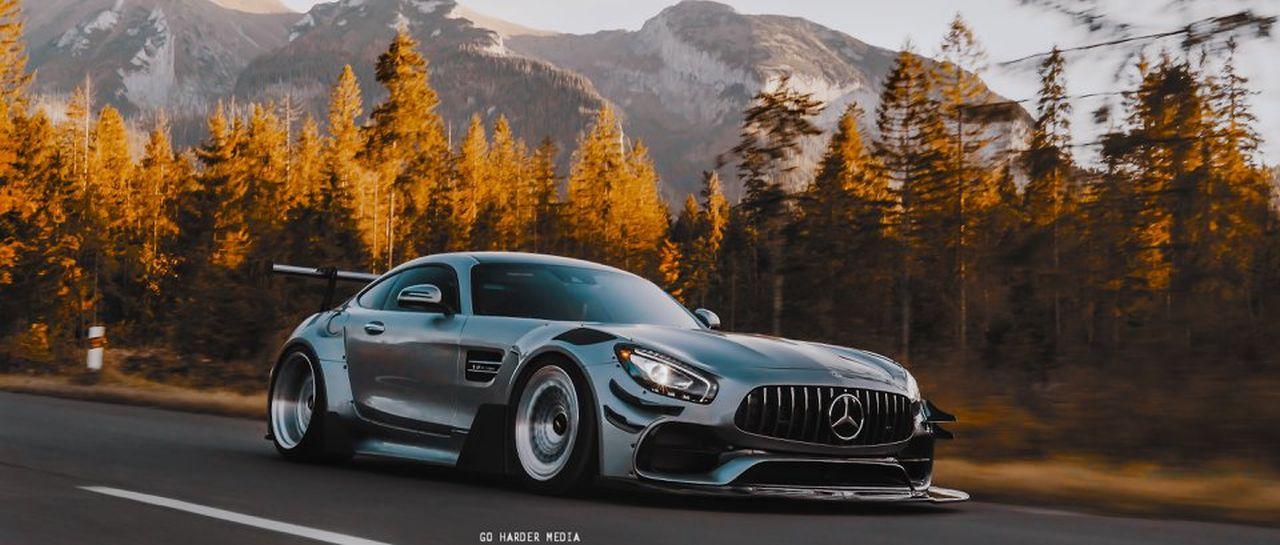 Mercedes AMG GT S - En mode vraiment sale ! 12