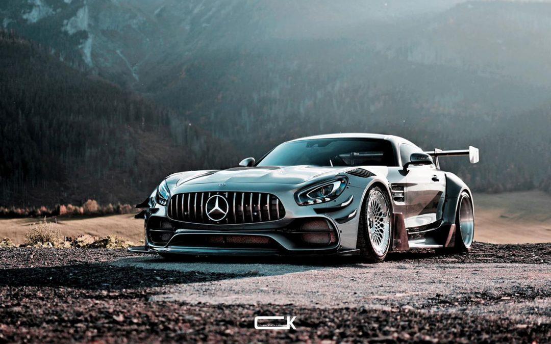 Mercedes AMG GT S – En mode vraiment sale !