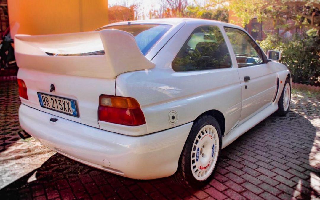 '92 Escort Cosworth… Rally ADN