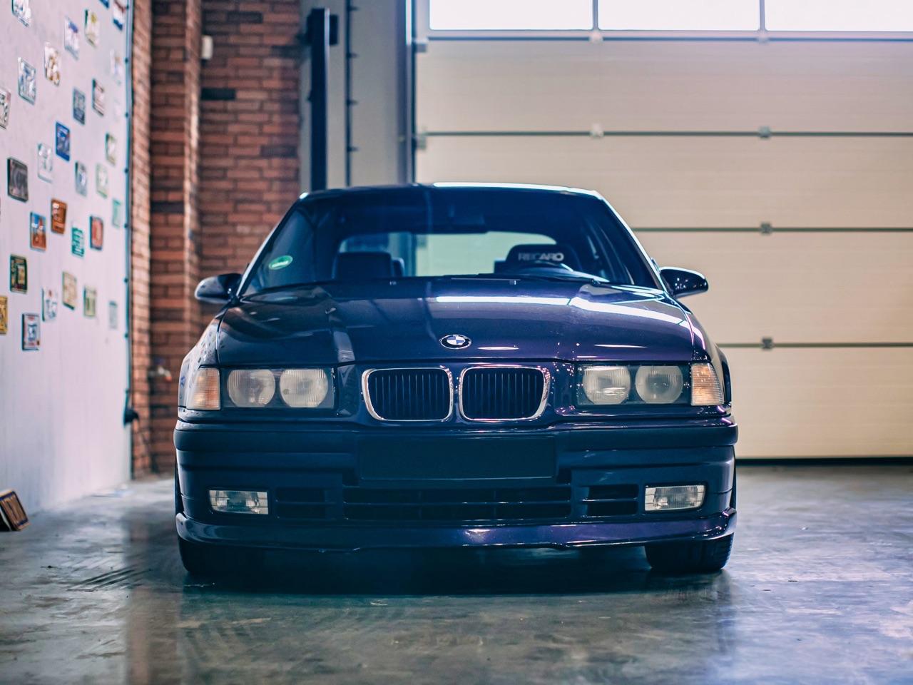 '97 BMW 347i Compact... V8 signé Hartge ! 8