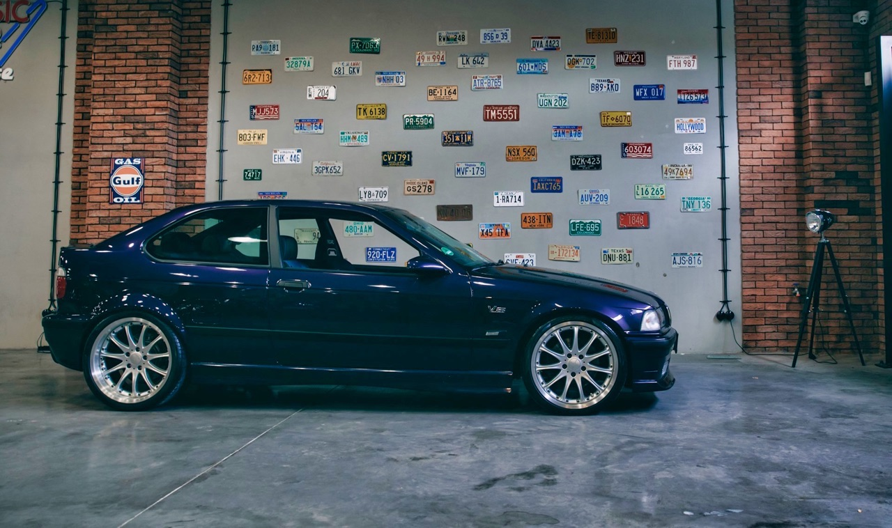'97 BMW 347i Compact... V8 signé Hartge ! 3
