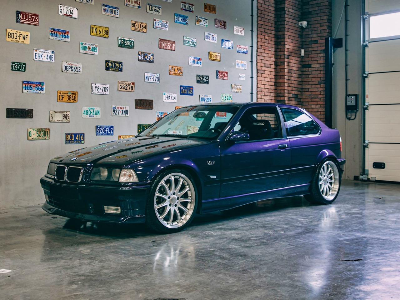 '97 BMW 347i Compact... V8 signé Hartge ! 16