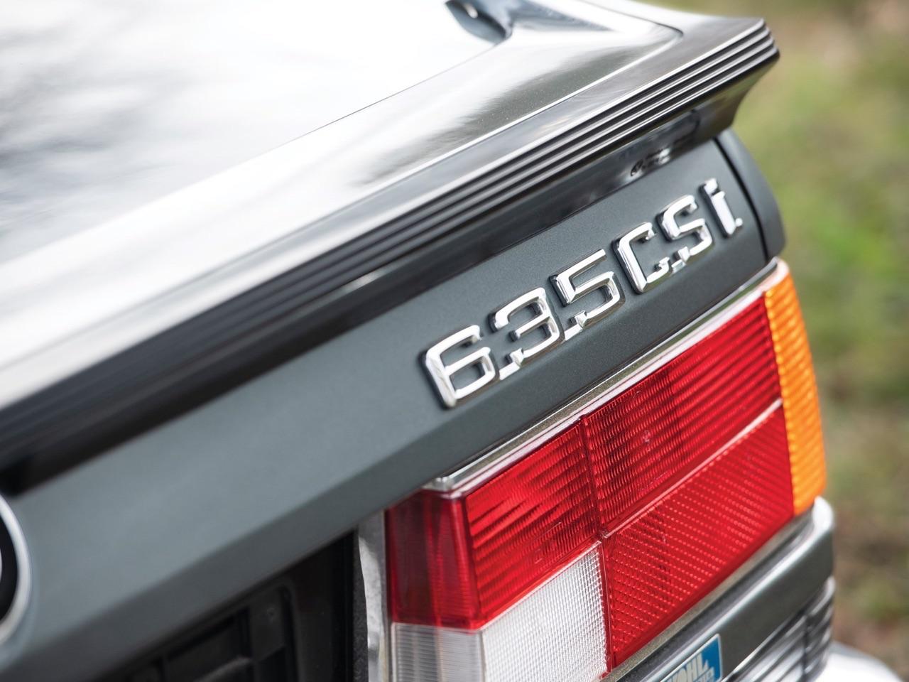 De BMW 635 Csi à Hartge H6 SP 5