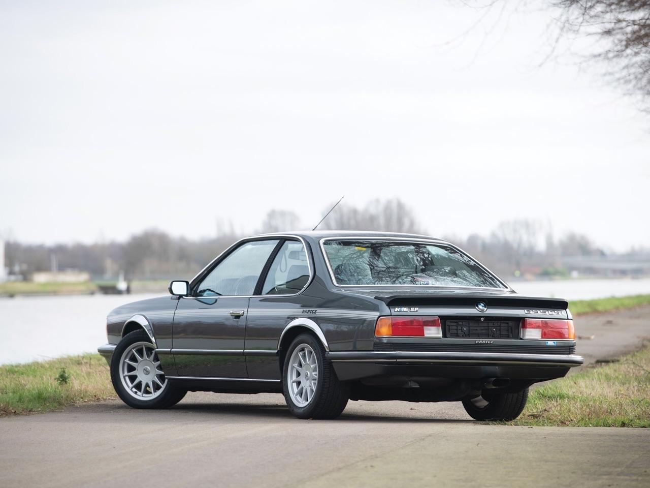 De BMW 635 Csi à Hartge H6 SP 19