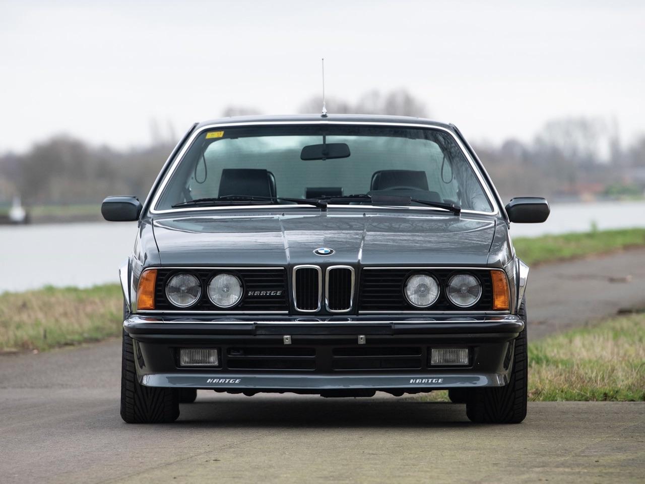 De BMW 635 Csi à Hartge H6 SP 6