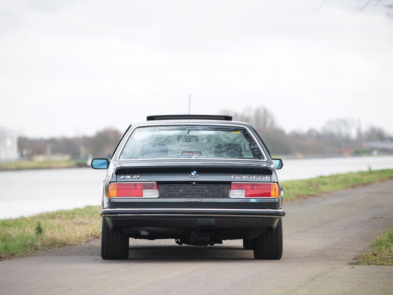De BMW 635 Csi à Hartge H6 SP 8