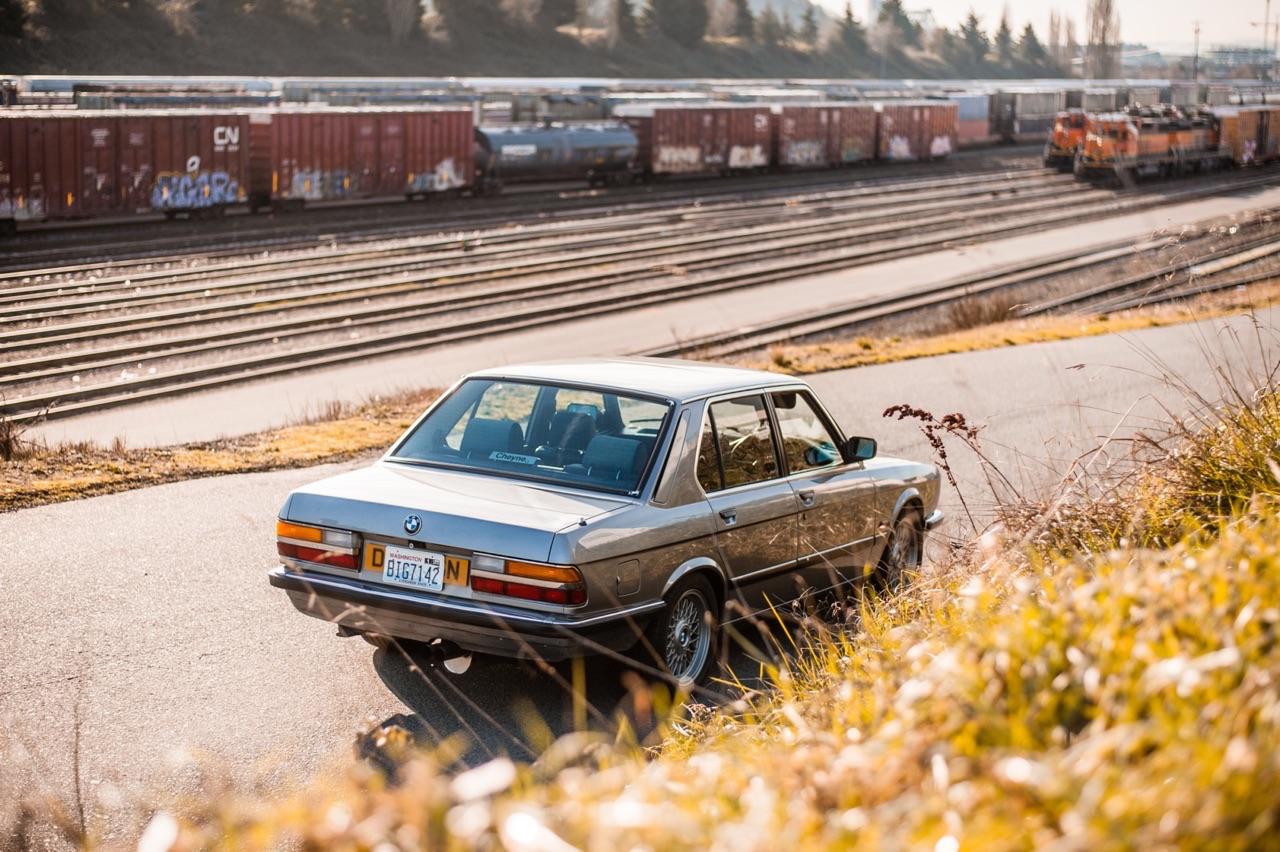 BMW E28 M532i... Greffe d'organe ! 47
