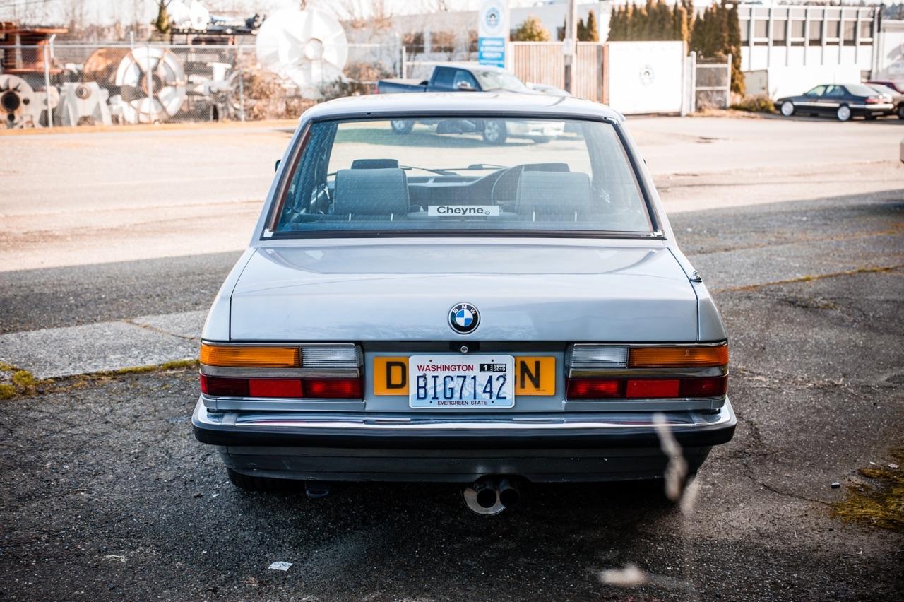 BMW E28 M532i... Greffe d'organe ! 37