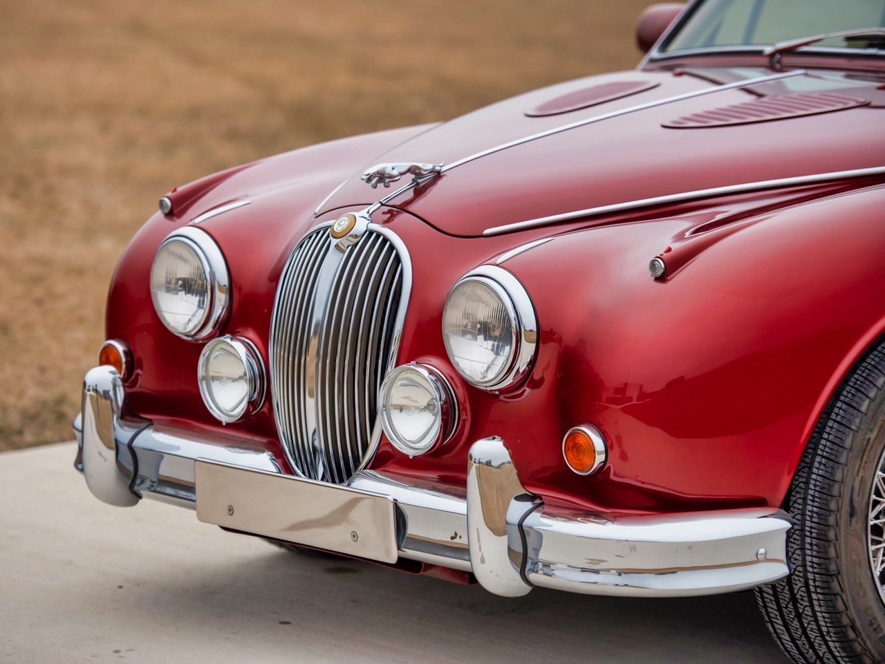Restomod Jaguar MkII 3.8... enfin, plutôt Beacham V8 Supercharged ! 14