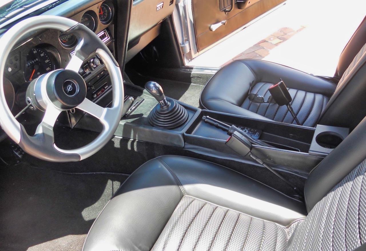 '72 Opel GT... 1.8l Turbo ! Enfin un moteur digne de sa gueule... 13