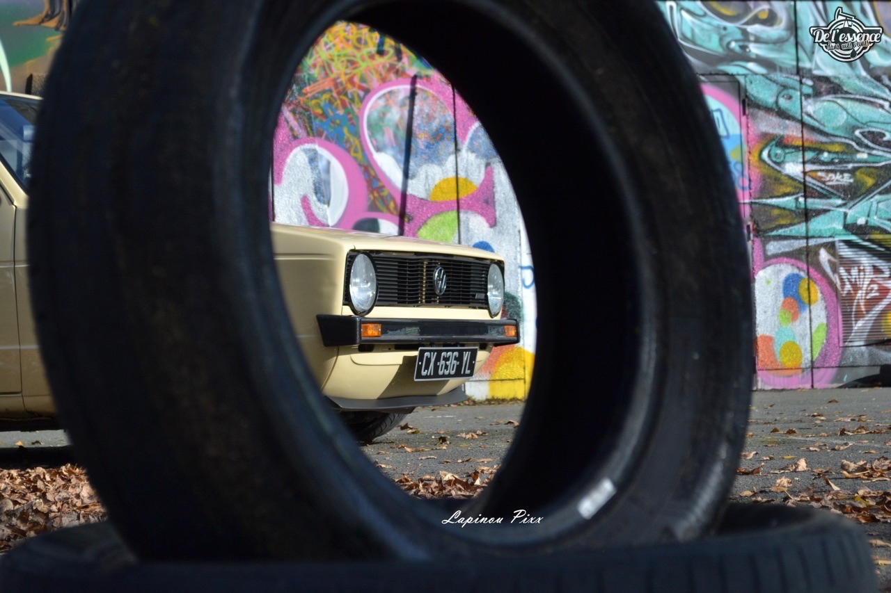 Slammed VW Caddy - Metal, bois et carbone ! 7