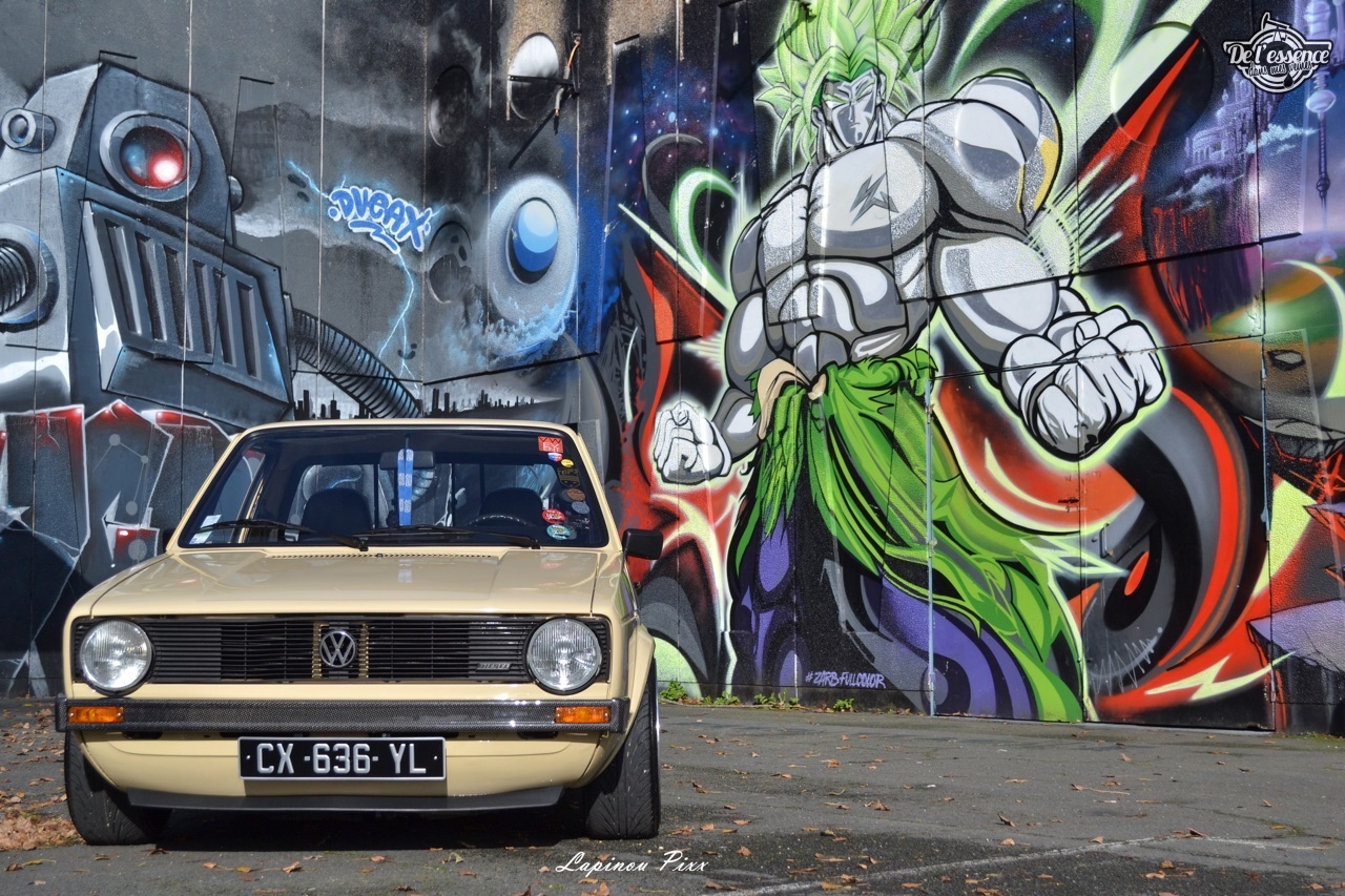 Slammed VW Caddy - Metal, bois et carbone ! 2