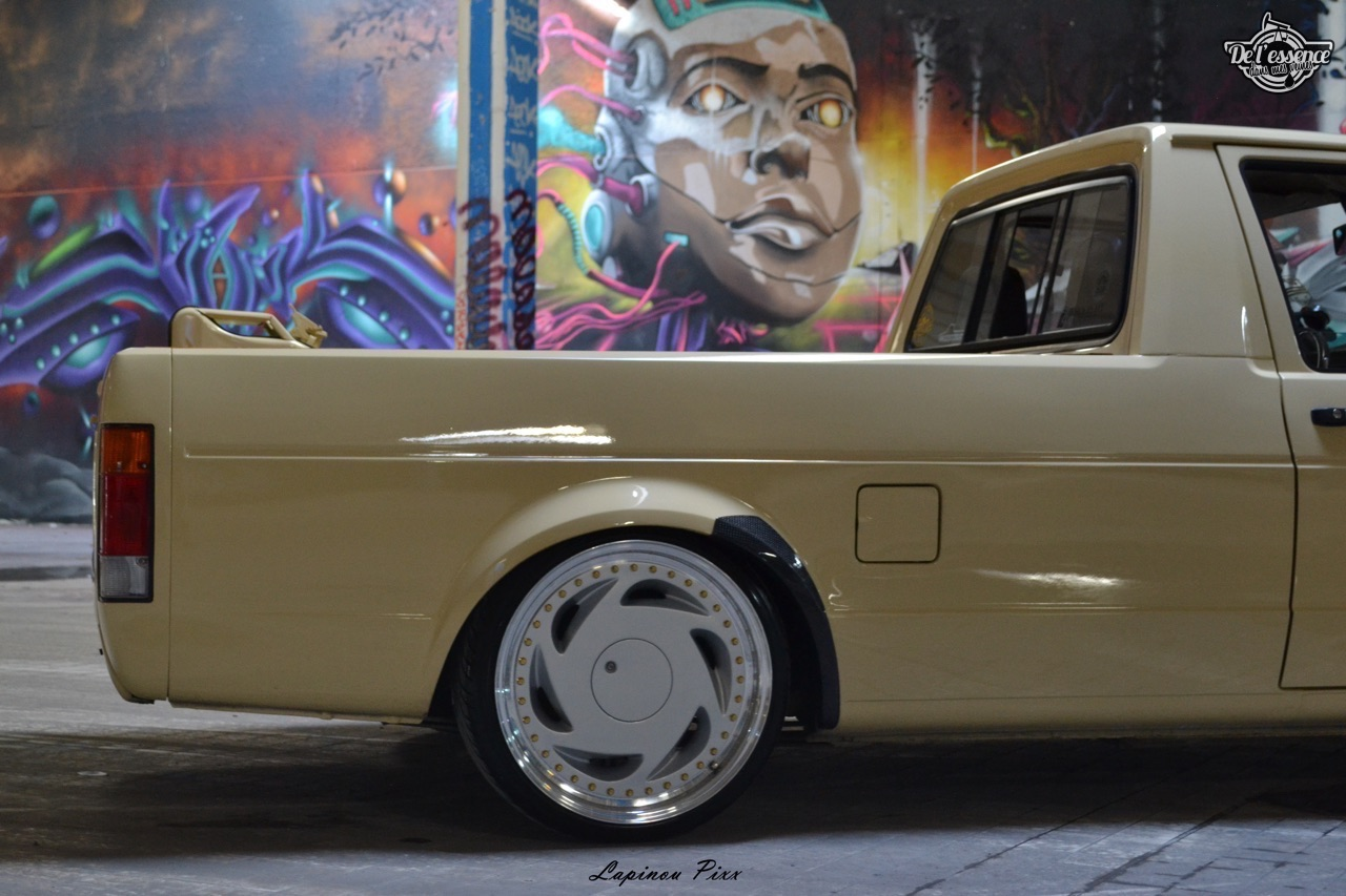 Slammed VW Caddy - Metal, bois et carbone ! 22