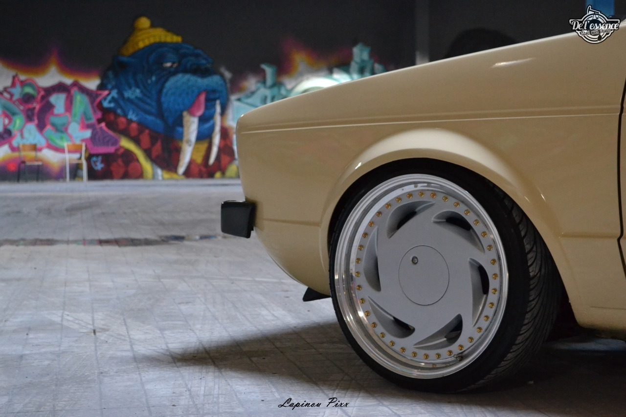 Slammed VW Caddy - Metal, bois et carbone ! 23