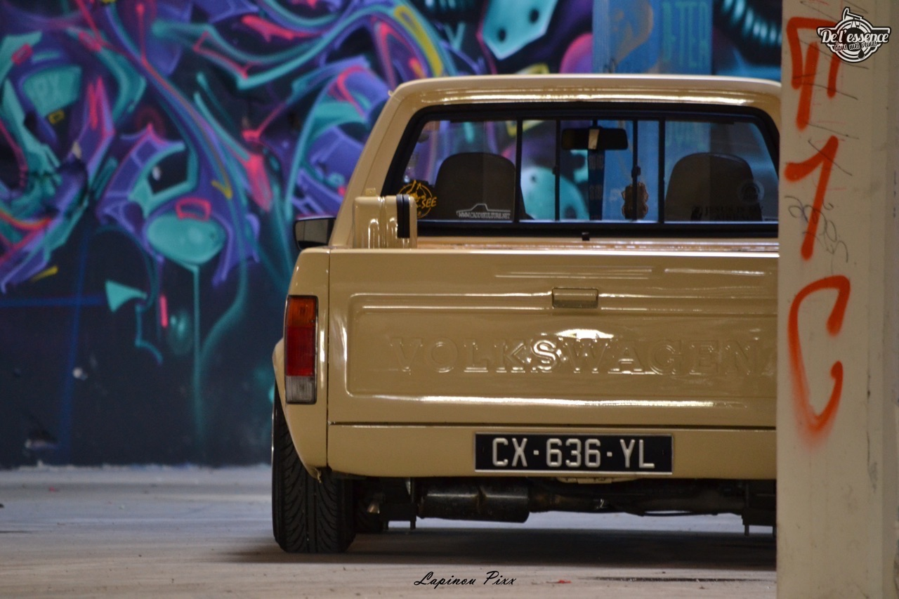 Slammed VW Caddy - Metal, bois et carbone ! 21