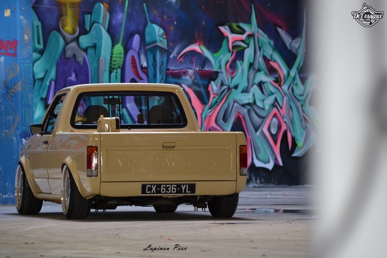 Slammed VW Caddy - Metal, bois et carbone ! 18