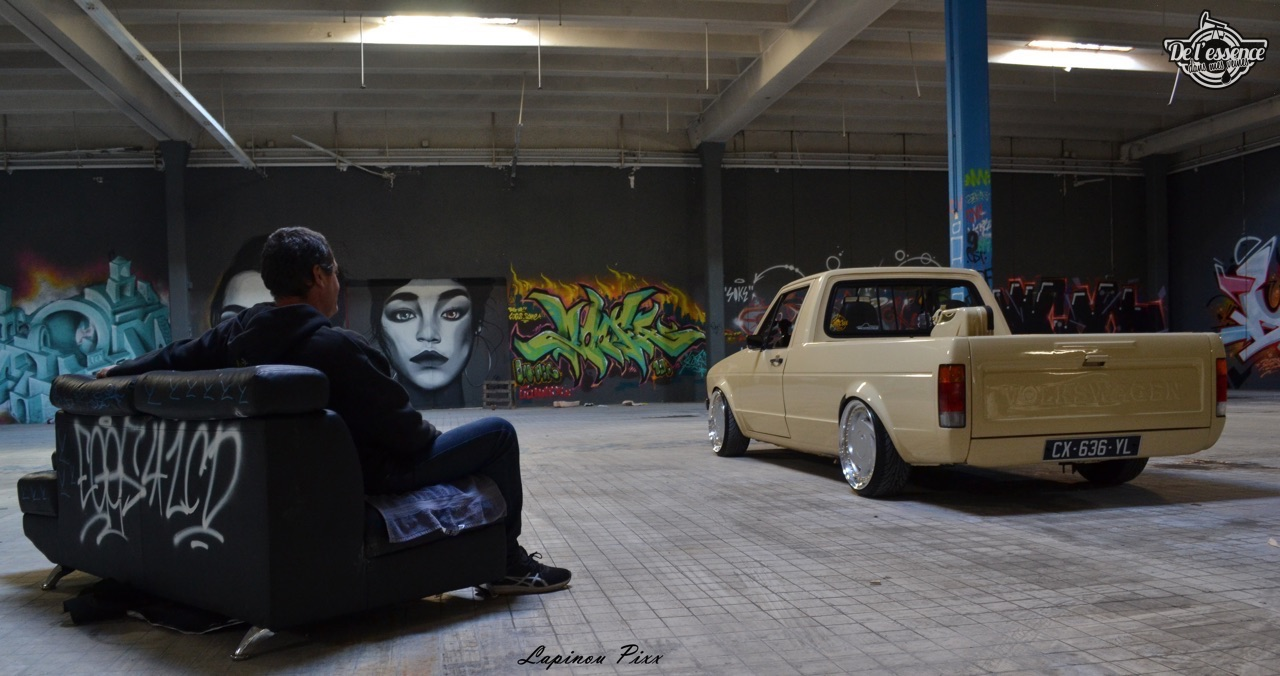 Slammed VW Caddy - Metal, bois et carbone ! 24