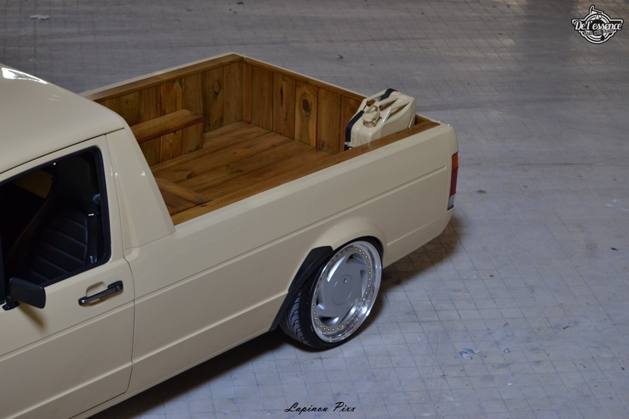 Slammed VW Caddy - Metal, bois et carbone ! 20