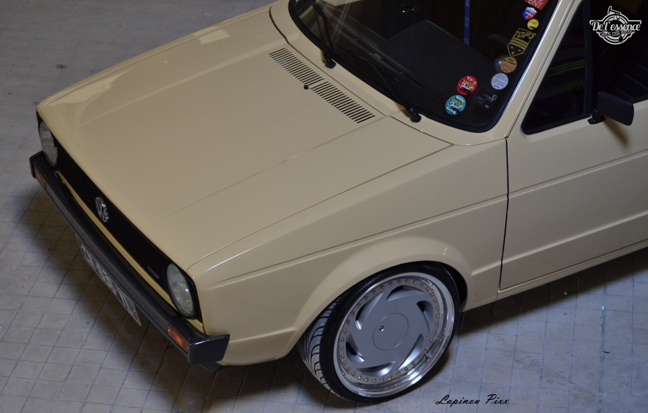 Slammed VW Caddy - Metal, bois et carbone ! 19