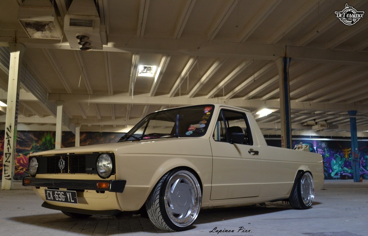 Slammed VW Caddy - Metal, bois et carbone ! 3