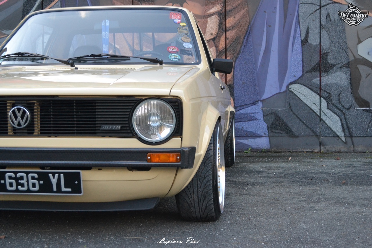 Slammed VW Caddy - Metal, bois et carbone ! 6