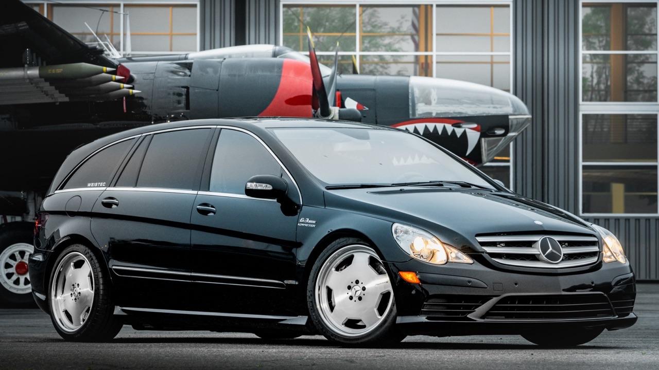 Mercedes R 63 AMG Supercharged... 700 ch pour papa pressé ! 1