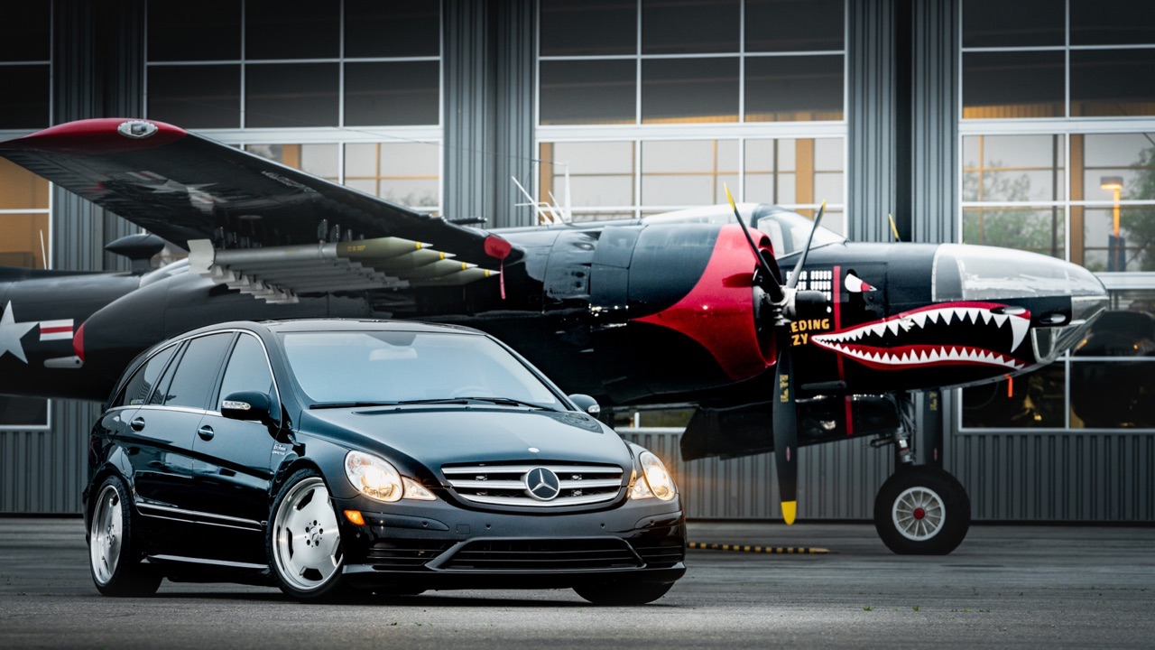 Mercedes R 63 AMG Supercharged... 700 ch pour papa pressé ! 13
