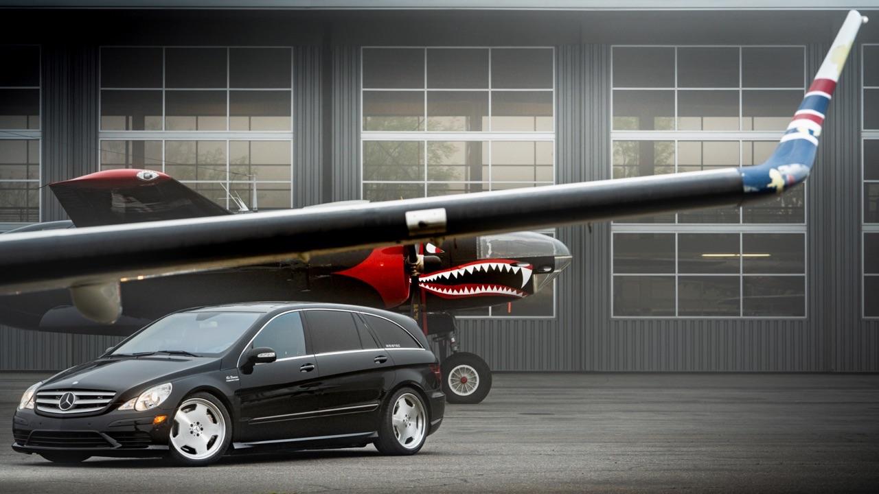 Mercedes R 63 AMG Supercharged... 700 ch pour papa pressé ! 14