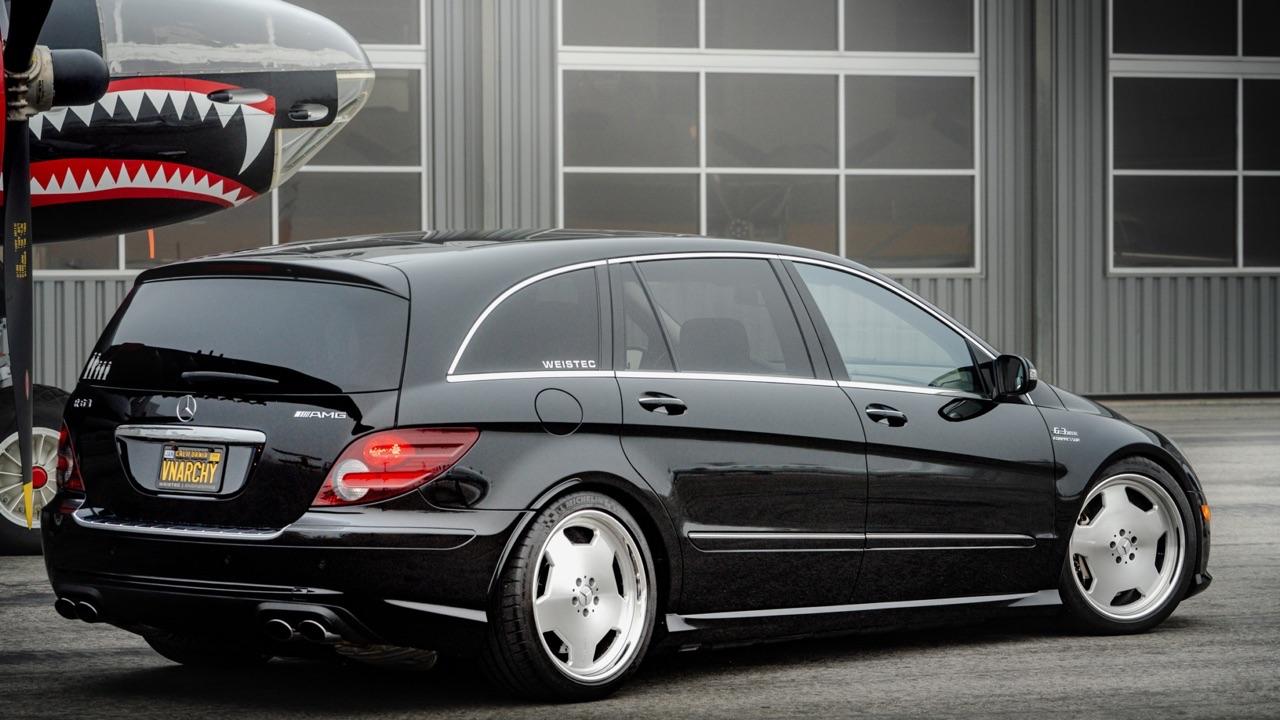 Mercedes R 63 AMG Supercharged... 700 ch pour papa pressé ! 2