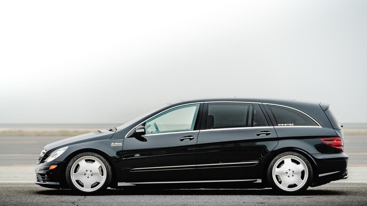 Mercedes R 63 AMG Supercharged... 700 ch pour papa pressé ! 3