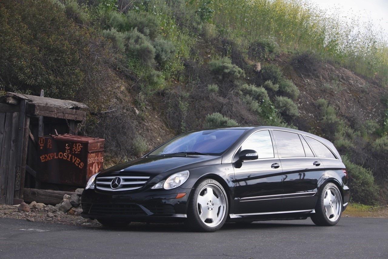Mercedes R 63 AMG Supercharged... 700 ch pour papa pressé ! 4