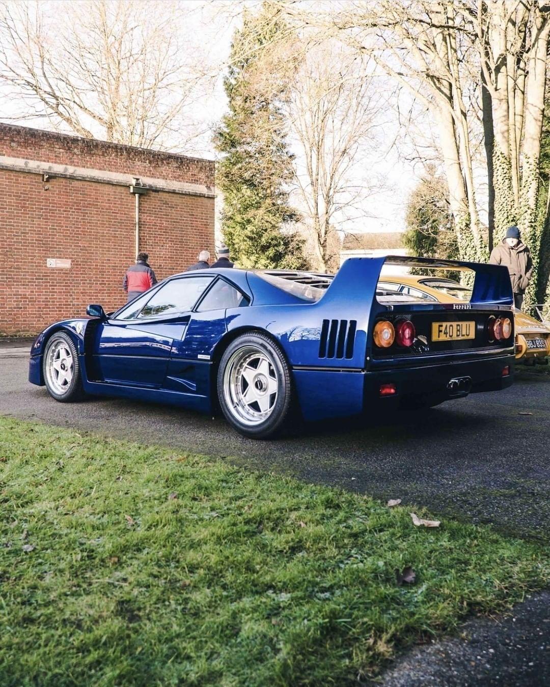 Ferrari F40 - Nel blu dipinto di blu... 7