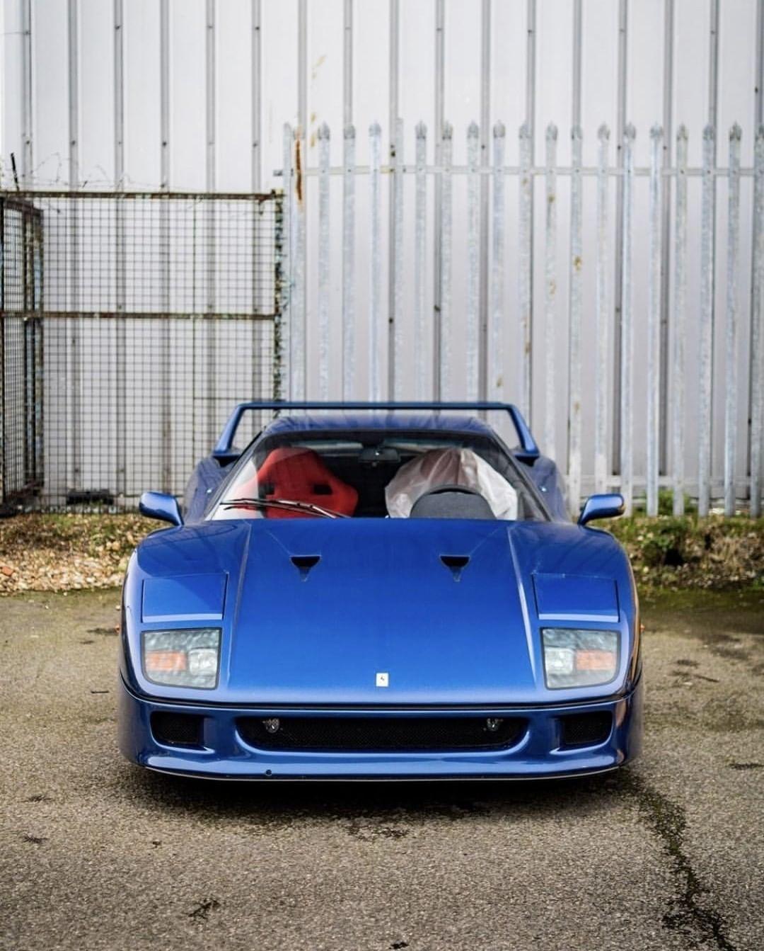 Ferrari F40 - Nel blu dipinto di blu... 9
