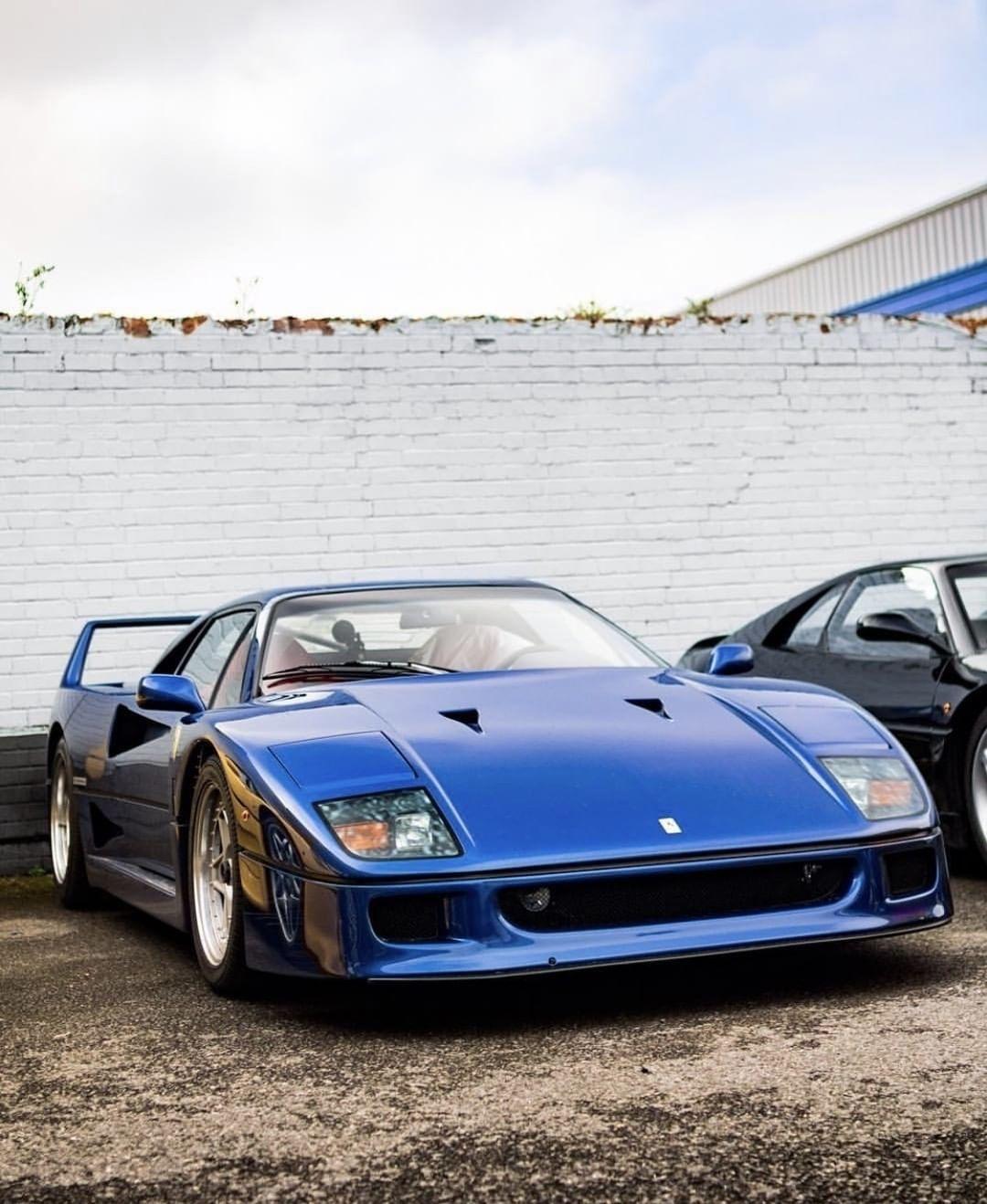 Ferrari F40 - Nel blu dipinto di blu... 4