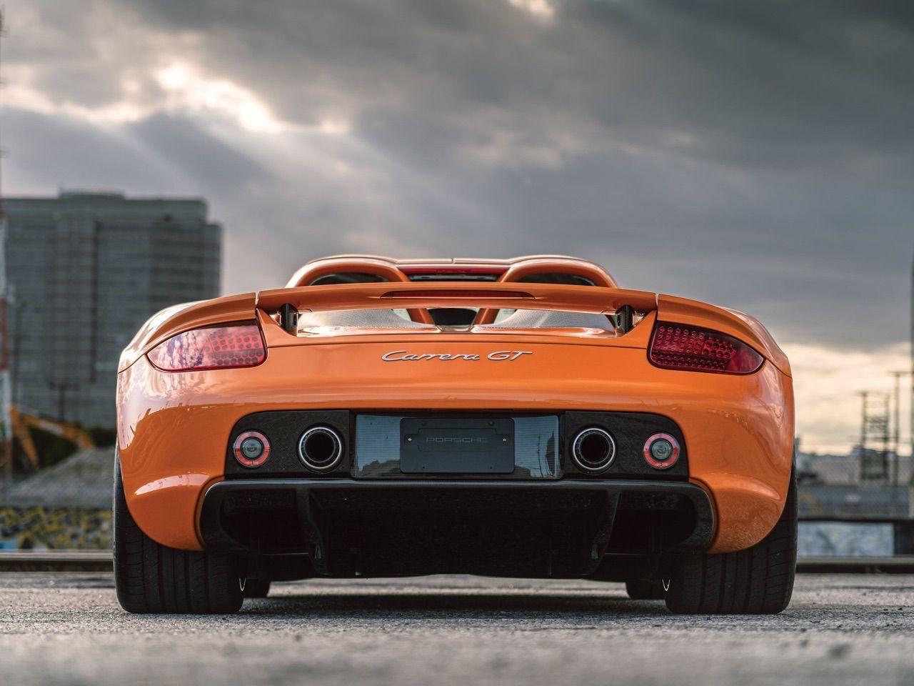 Porsche Carrera GT - La dernière des Mohicannes... 13