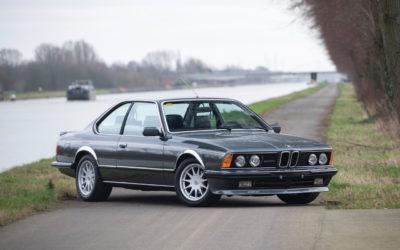 De BMW 635 Csi à Hartge H6 SP